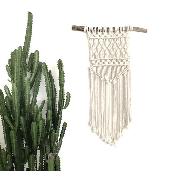 "Macrame Wall Hanging ""Drifter"" READY TO SEND"