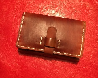 Handmade Leather Business Card Wallet (Type 3)