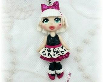 Collana con bambolina LOL Diva