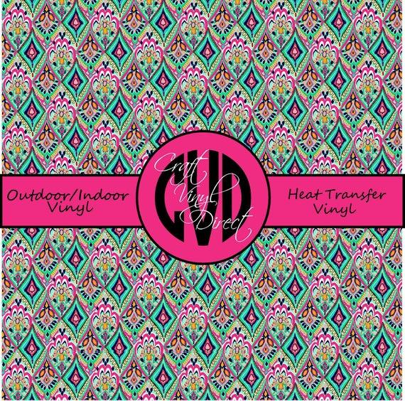 Beautiful Patterned Vinyl // Patterned / Printed Vinyl // Outdoor and Heat Transfer Vinyl // Pattern 29