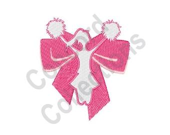 Cheerleader - Machine Embroidery Design, Cheer