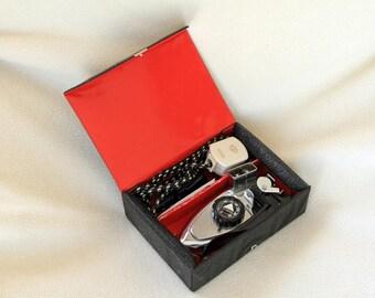 Vintage Trident Travel Iron - Boxed