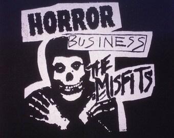 PATCH - Misfits Horror Business- canvas HORROR punk rock - Samhain Glenn Danzig