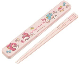 My Melody and Little Twin Stars Chopsticks Set Sanrio  箸 By Skater   Essstäbchen