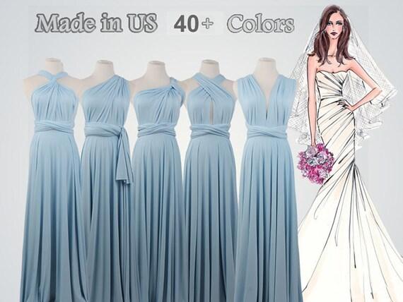 Prom Dress Light Blue Dress