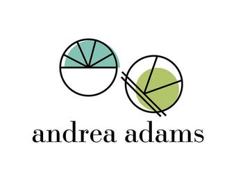 Andrea Adams | Geometric Pre-Made Logo