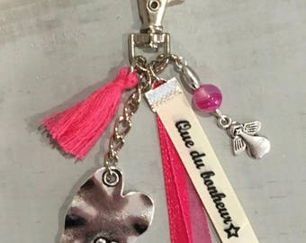 "Grigri Lili Keychain, bag charm and my * ""Happiness that"" Creations"