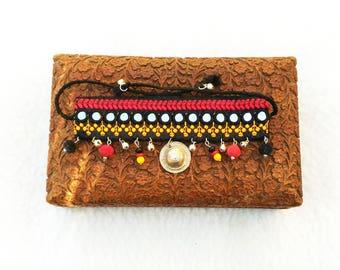 Banjara Tribal ethnic Bohemian cuff boots cuff boots cover∴ ∴ ∴ EMAJARA ∴ ∴ ∴ cuff