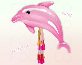 "42"" DOLPHIN BALLOON 
