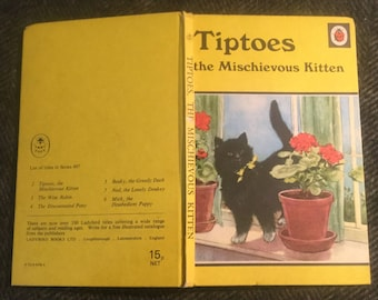 Ladybird Book - Tiptoes the Mischievous Kitten