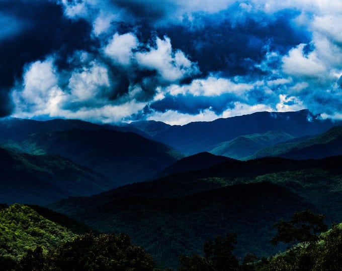 Blue Ridge Shadows