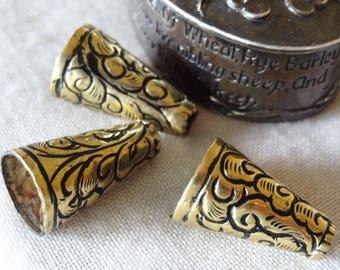 Nepali brass Cone