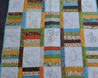 Fun at the Zoo Quilt