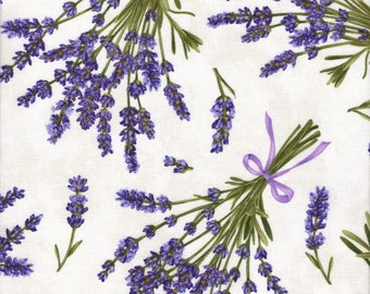 Lavender Market by Deborah Edwards for Northcott Fabrics, Fabric by the yard, 20289-11