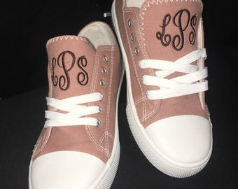 Mauve Narnia, Casual Sneakers  Monogrammed , Womens Shoes, Women's Fashion, Converse women's sneakers
