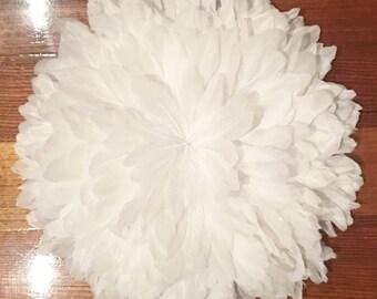 Juju chapeau Style Wall Hanging - 40-50cm blanc de plume d'oie ** PRÉ-COMMANDE **