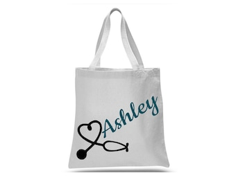 Personalized Nurse Gifts - Nursing Student Gift - Nurse Bag - Nurse Tote Bag