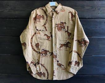 Vintage 90s Ralph Lauren Polo Button Up