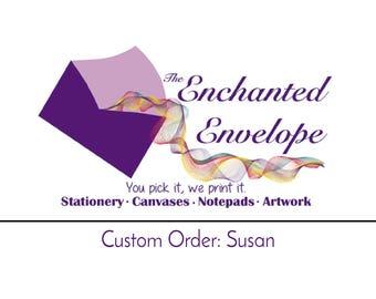 CUSTOM ORDER: Susan, Custom Labels, Custom Stickers, Branded Labels, Branded Stickers, Stickers with Logo, Etsy Shop Stickers, Shop Stickers