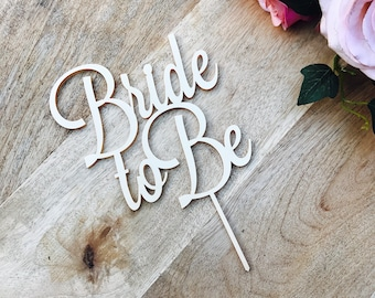 Bride To Be Cake Topper Bridal Shower Cake Kitchen Tea Cake Cake Topper Cake Decoration Cake Decorating Bride to be Topper Sugar Boo