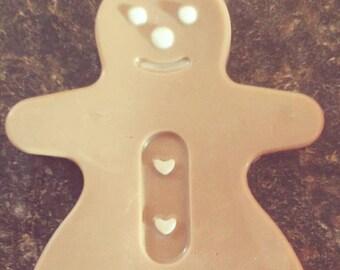 Gingerbread woman soap
