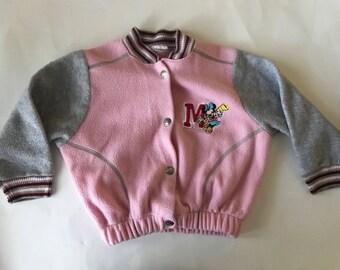 Minnie Mouse Varsity Jacket