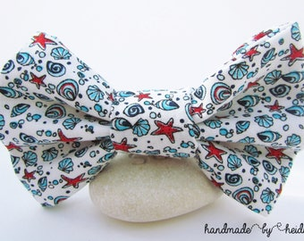 Bow Tie - Beach Wedding Boys Outfit - Beach Wedding Ideas - Bright Bow Tie - Summer Bow Tie - Bow Tie for Boys - Toddler Bow Tie - Button On