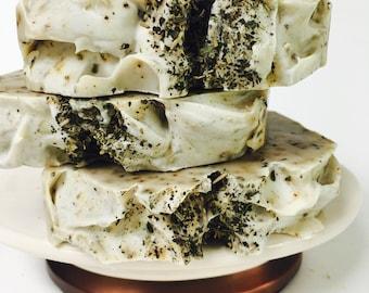 Peppermint & Rosemary Herbal Soap Bar - 5 oz