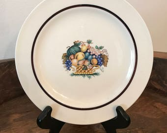 Vintage Edwin M. Knowles American Tradition Concord Pattern Side Plate