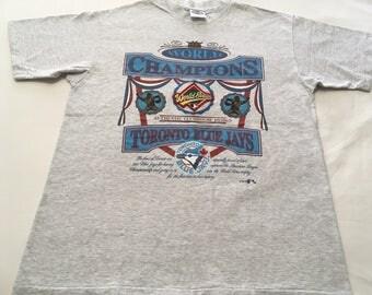 Toronto Blue Jays 1992 World Series Champions Shirt