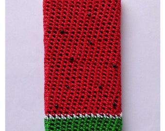 Cozy crochet watermelon
