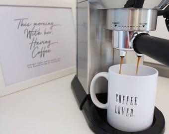 "Coffee cup ""Coffee Lover"""