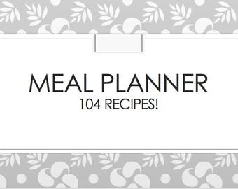 Theme Night Meal Planner: 104 Recipes Included