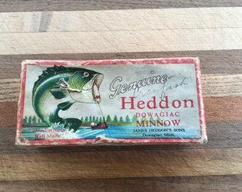 Heddon 2PC Box for GE Wood Vamp 7309L Lure L Rig Pinetree Bass