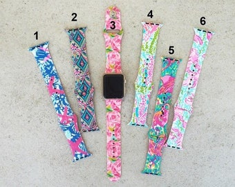 Lilly Inspired Apple Watch Bands