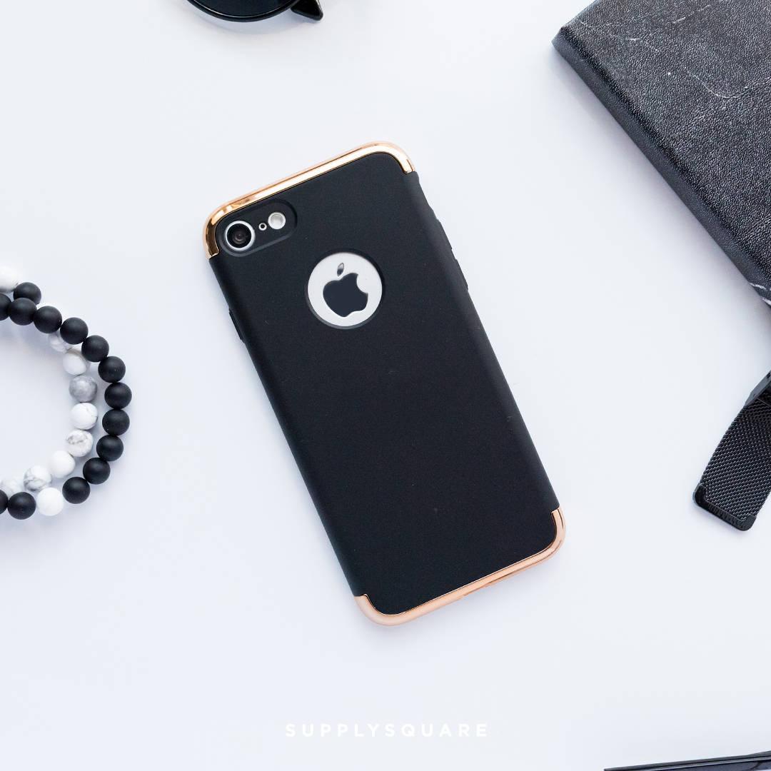 iphone 8 plus case matte black