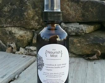 Organic Hair Nourish-Mist - Hair Growth