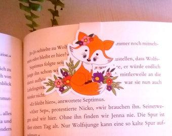 Magnetic bookmarks Füchschen