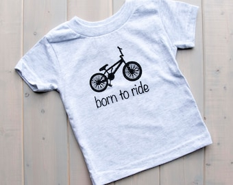 Born to Ride T-Shirt, Biking Toddler Shirt, Toddler Fashion, Baby Shirt, Bike Toddler Shirt, Toddler Bike Shirt, Kids Shirts