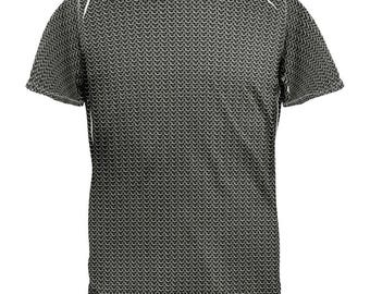 Chainmail Costume All Over Adult T-Shirt