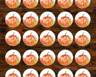 Pumpkin Stickers, Wedding Envelope Seals, Sticker, Wedding stickers, Wedding Invitation, Wedding Stationery, Wedding Invite, Invitation
