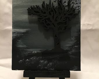Cold Winter 3D Canvas Art