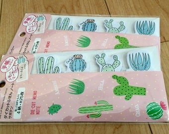 Japanese Cactus Sticky pads (2 packages)
