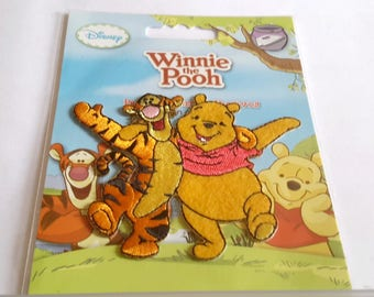 Fusible badge Winnie the Pooh and Tigger