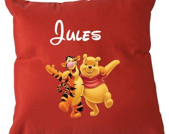 Custom pillows with Tigger and Winnie
