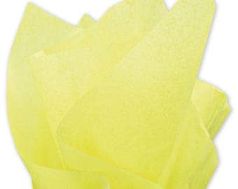 "Lime Tissue Paper - 15"" x 20"" - 96 Sheets"