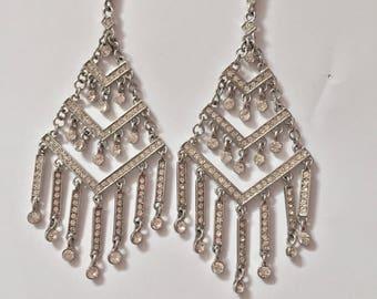 Chandelier Dangle Beautiful Earrings Gem Beads