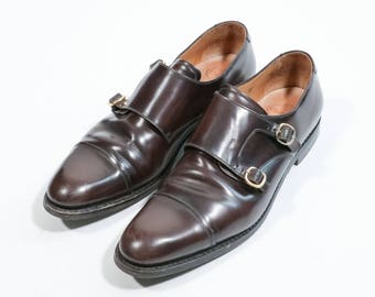 CHURCH'S - Shoes with double buckle