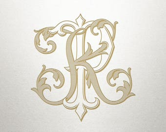 Wedding Logo Design - KP PK - Wedding Logo - Digital