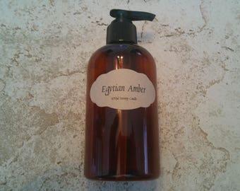 Egytian Amber Hand Lotion 8 ounce